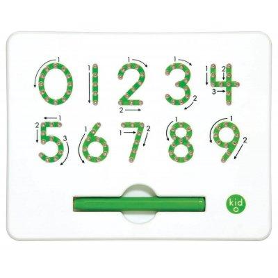 BELEDUC Magnetna tabla Učenje pisanja številk