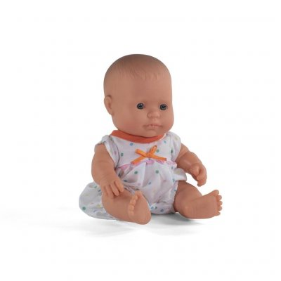 MINILAND Pižama s pikicami za dojenček igrača (21 cm)
