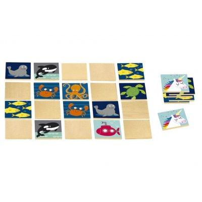 MOSES Igra spomin mini Morske živali