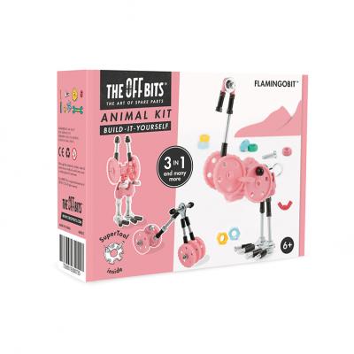 OFFBITS Sestavljanka Mehanika FlamingoBit