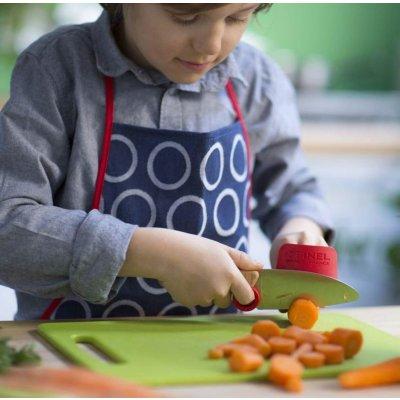 OPINEL Otroški nož, zaščita za prste in lupilec