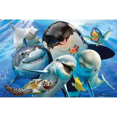 PRIME 3D Puzzle sestavljanke narava - Ocean Selfie