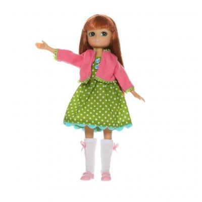 LOTTIE Dodatki za punčke Cvetlična obleka