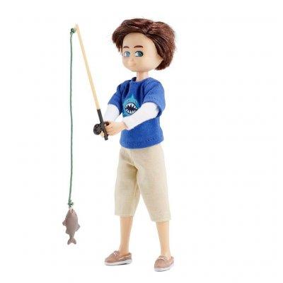 LOTTIE Dodatki za punčke Komplet za ribolov