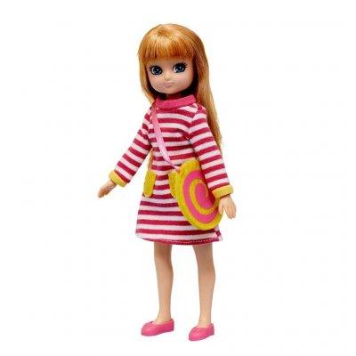 LOTTIE Dodatek za punčke Malinca obleka