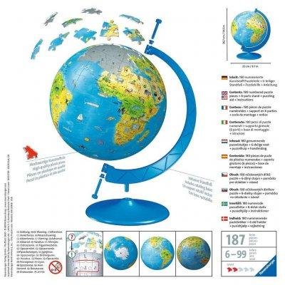 RAVENSBURGER 3D Puzzle Globus