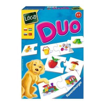 RAVENSBURGER Miselne igre za otroke Duo