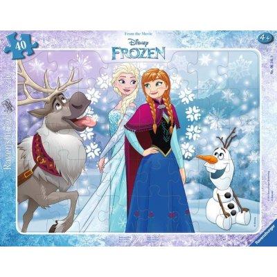 RAVENSBURGER Puzzle Frozen Anna in Elsa 40d