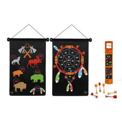 SCRATCH Magnetni pikado za otroke Indijanec