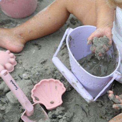 SCRUNCH Igrače za peskovnik Modelčki - roza