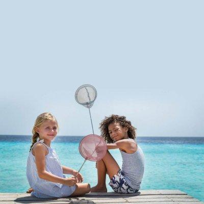 SCRUNCH Vodne igrače Ribiška mreža Modra