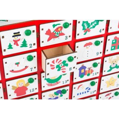 SMALL FOOT Adventni koledar Božični motivi