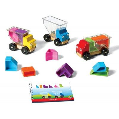 SMART GAMES Miselne igre za otroke - 3 tovornjaki