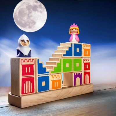 SMART GAMES Camelot Junior - Miselne igre za otroke