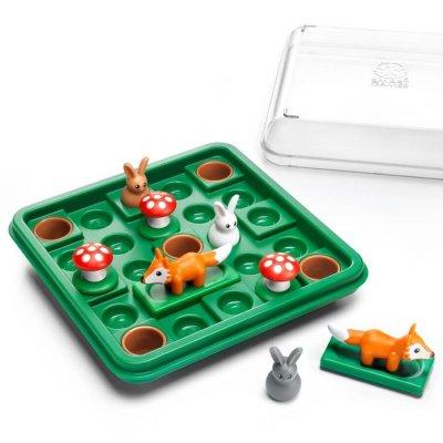 SMART GAMES Miselne igre za otroke - Zajčki skačejo