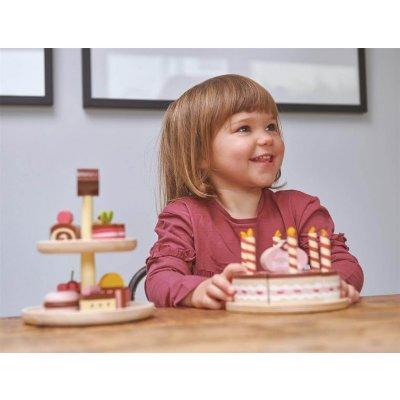TENDER LEAF Lesena torta Rojstni dan