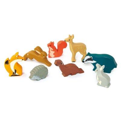TENDER LEAF Lesene figurice živali