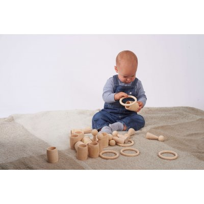 TICKIT Montessori materiali - Leseni obroči