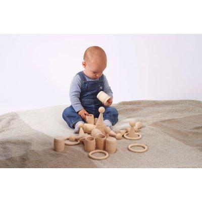 TICKIT Montessori materiali - Leseni sodčki
