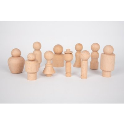 TICKIT Montessori materiali - Lesene figurice Prijatelji