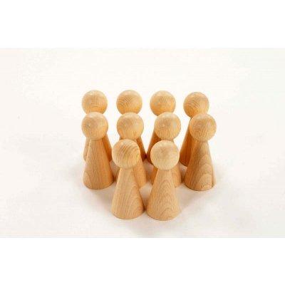 TICKIT Montessori materiali - Lesene figurice Stožci