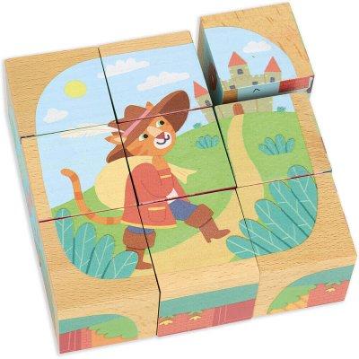 VILAC Lesene kocke Pravljice