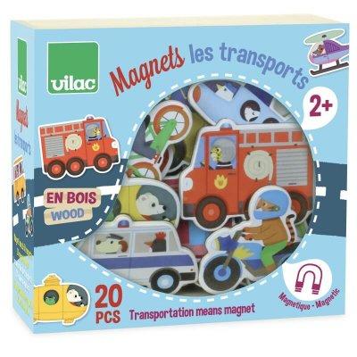 VILAC Magnetki za otroke Vozila