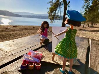 Punčke za punčke - Lottie slikarka